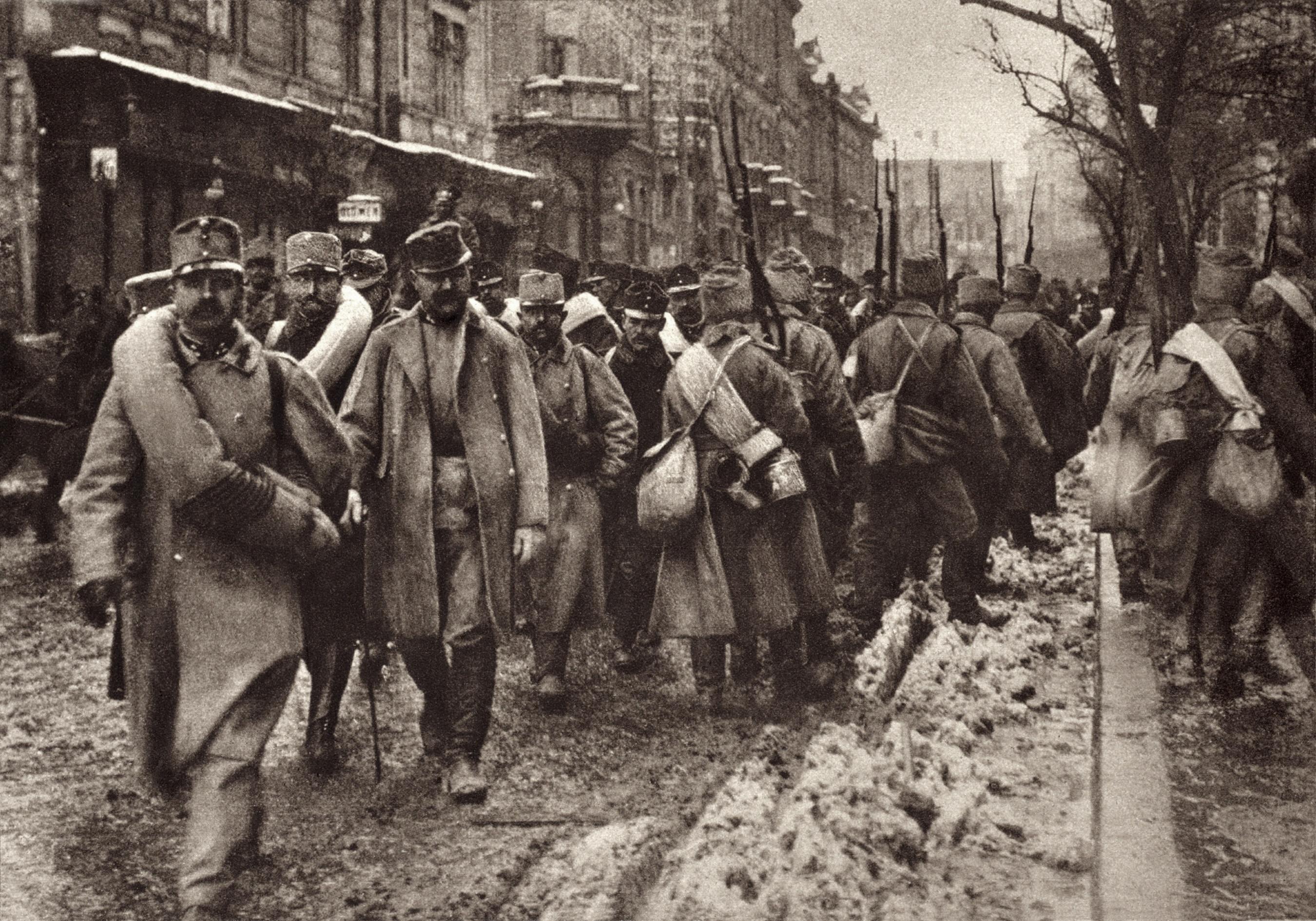 صورة تعود لأيام الحرب العالمية الأولى