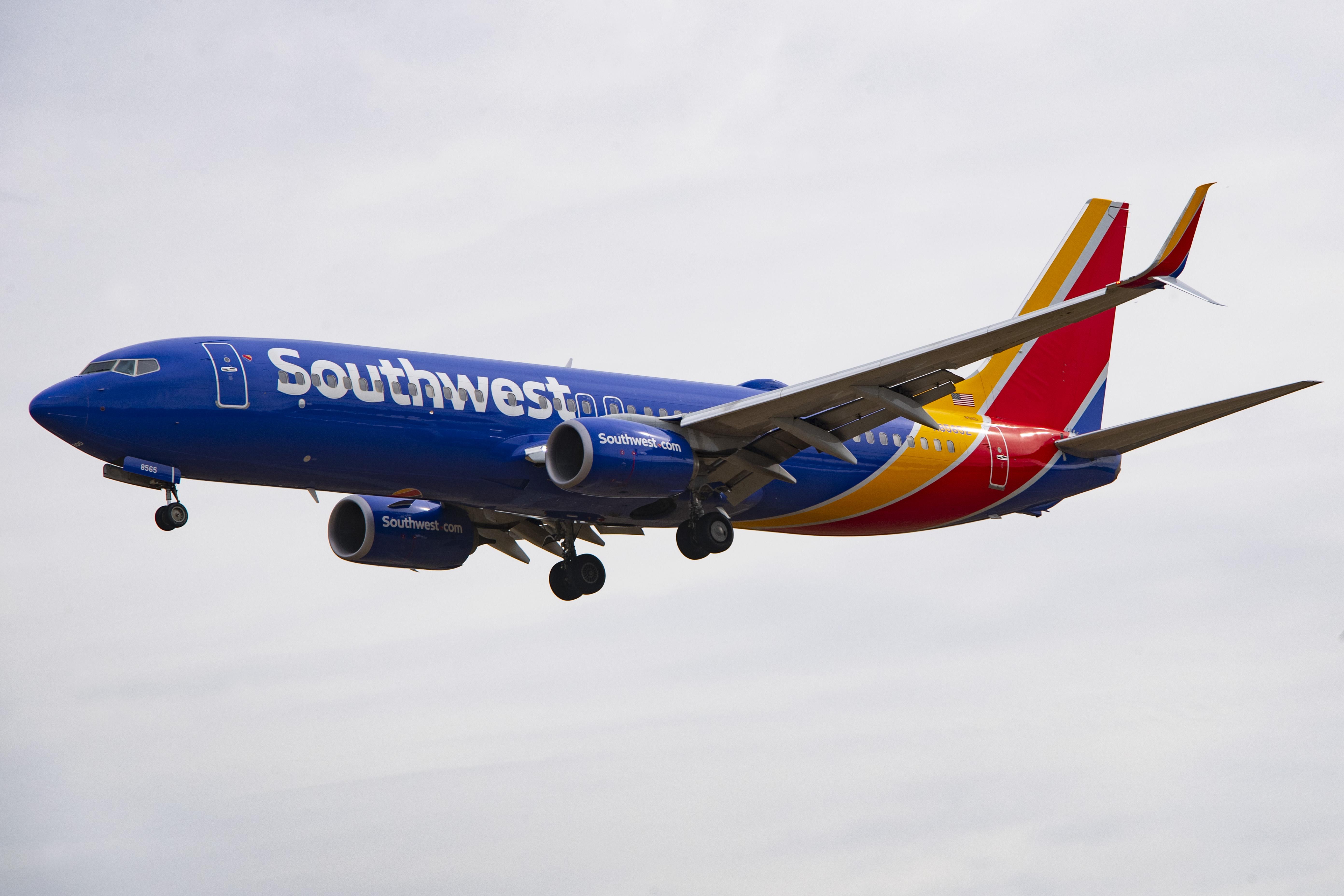 طائرة تابعة لخطوط ساوث ويست الجوية الأميركية