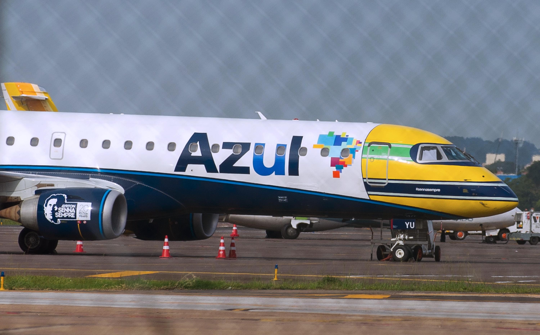 طائرة تابعة لخطوط AZUL الجوية البرازيلية