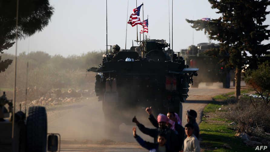 قوات أميركية في سوريا. أرشيفية