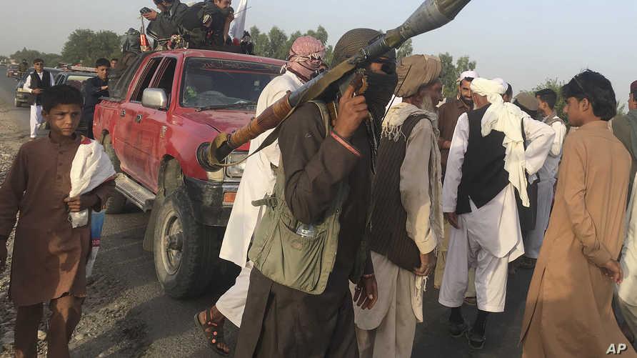 مقاتلون من طالبان- أرشيف
