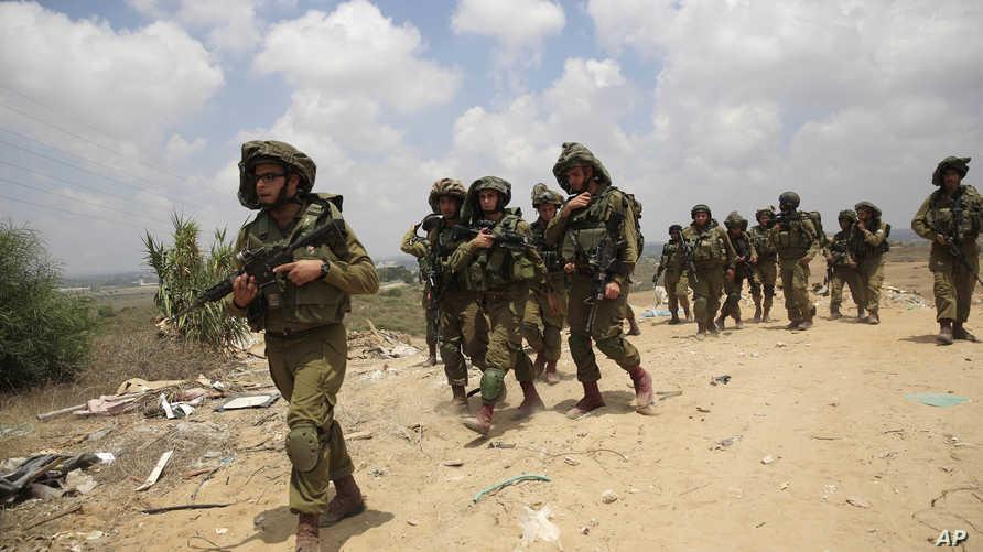 جنود إسرائيليون قرب سديروت- أرشيف
