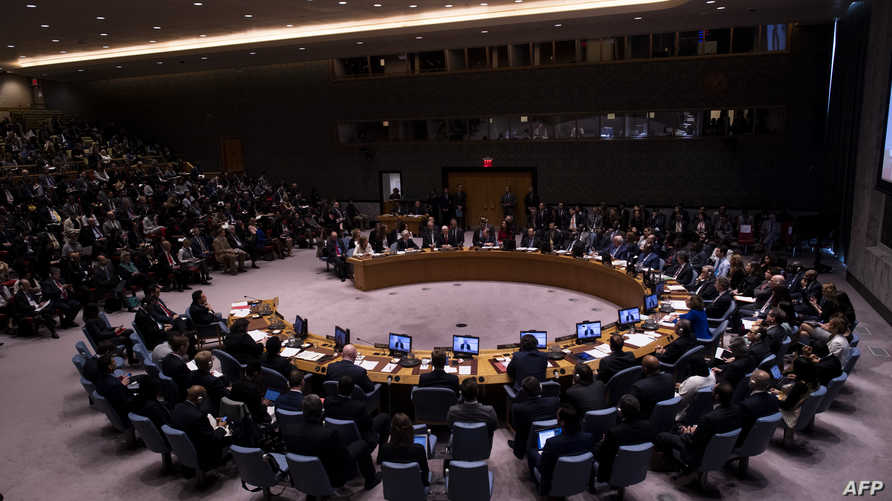 جلسة سابقة لمجلس الأمن