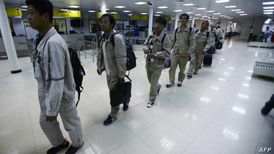 ركاب في مطار الخرطوم (أرشيف)