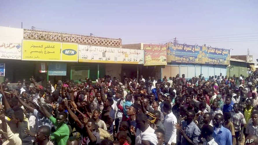 مظاهرات احتجاجية-السودان