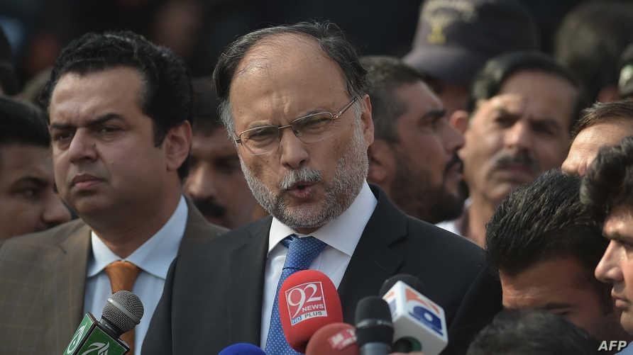 وزير الداخلية الباكستاني إحسان إقبال