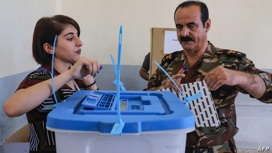 فتح صناديق الاقتراع-كردستان العراق