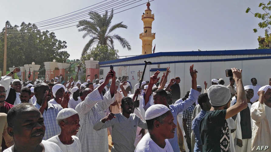 مظاهرات بعد صلاة الجمعة في الخرطوم