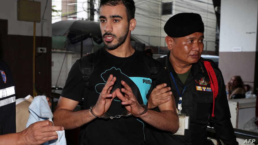 حكيم العريبي في محكمة في بانكوك