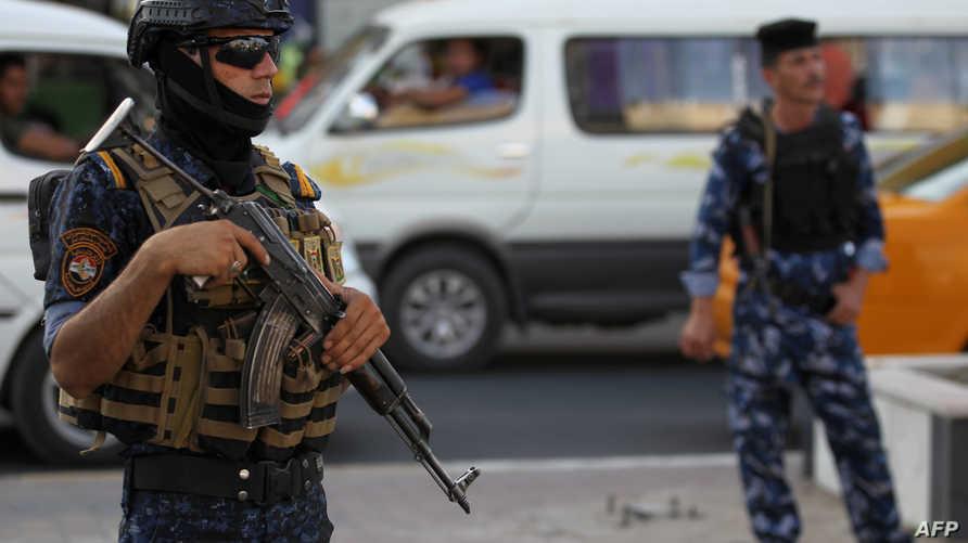 أفراد بالشرطة العراقية - أرشيف