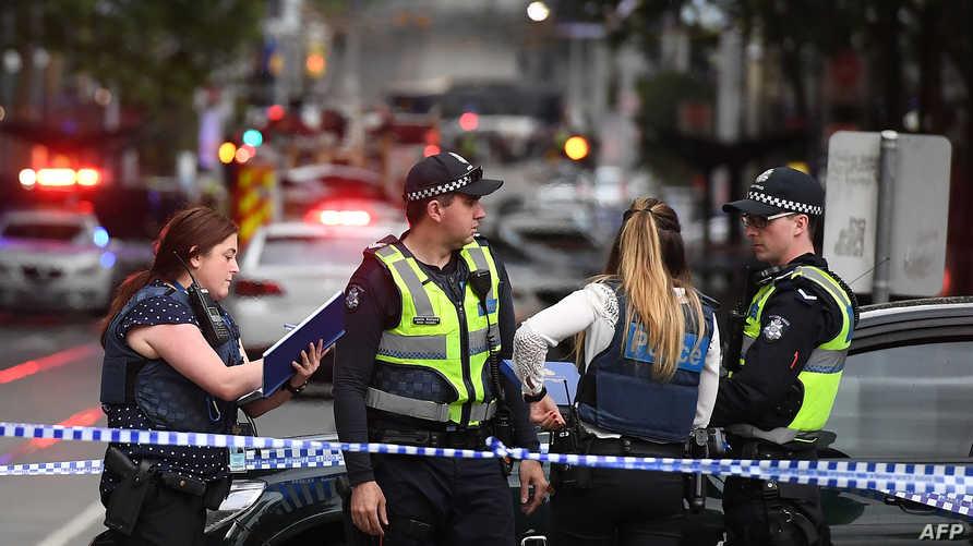 الشرطة الإسترالية تطوق مكان الهجوم