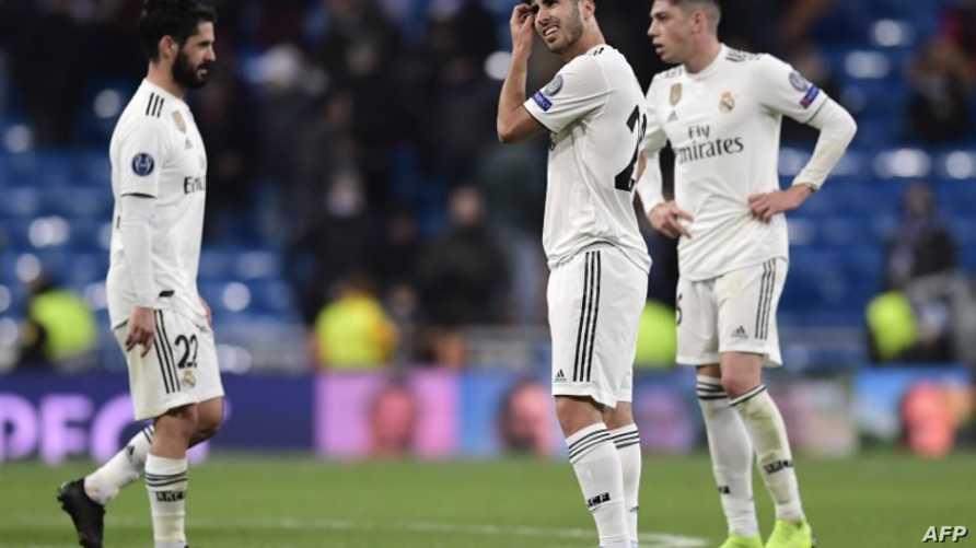 صدمة لاعبي ريال مدريد بعد الهزيمة