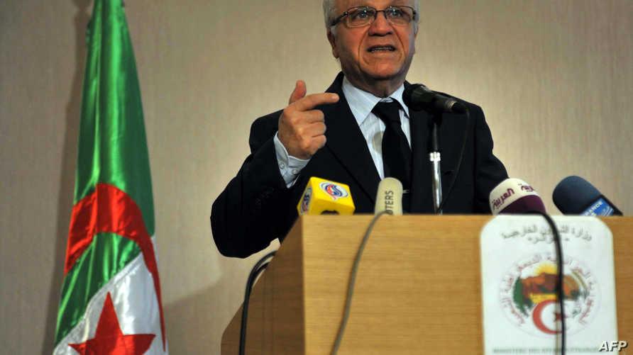 وزير الخارجية الجزائري مراد مدلسي