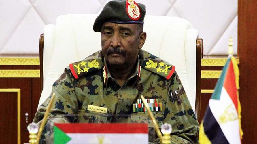 رئيس المجلس العسكري الفريق أول ركن عبد الفتاح البرهان عبد الرحمن.
