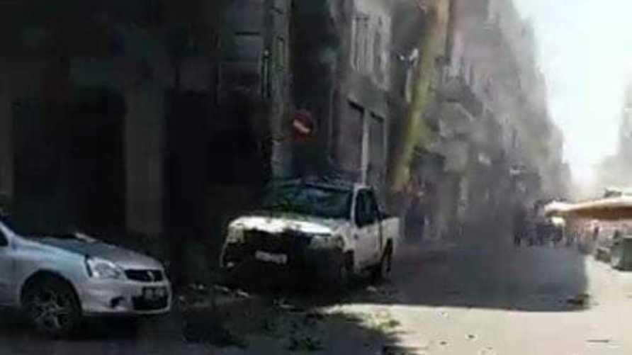 موقع أحد الانفجارين في تونس العاصمة