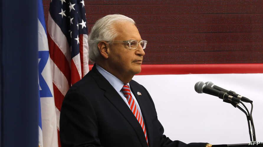 السفير الأميركي في إسرائيل ديفيد فريدمان