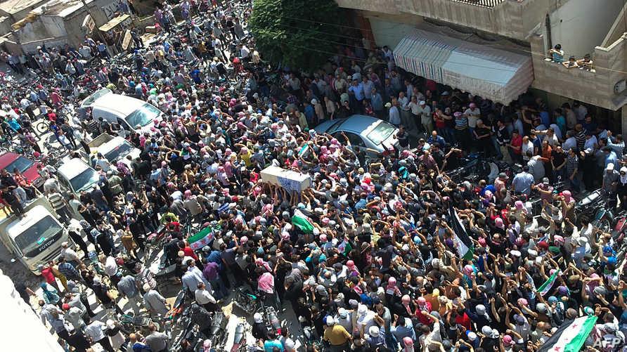مظاهرات في سورية