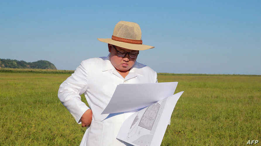 الزعيم الكوري الشمالي كيم جونغ أون - أرشيف