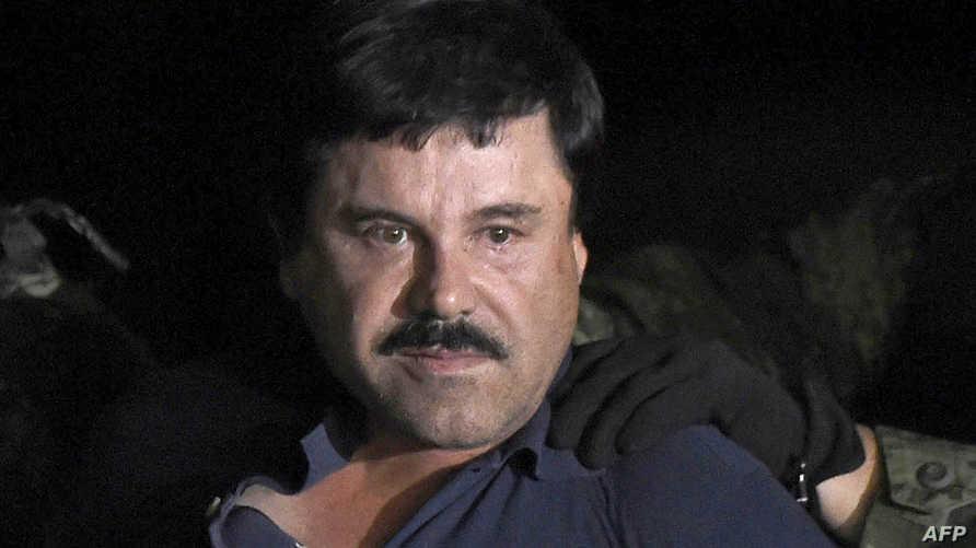 """تاجر المخدرات المكسيكي الشهير خواكين غوزمان المعروف باسم """"إل تشابو"""""""