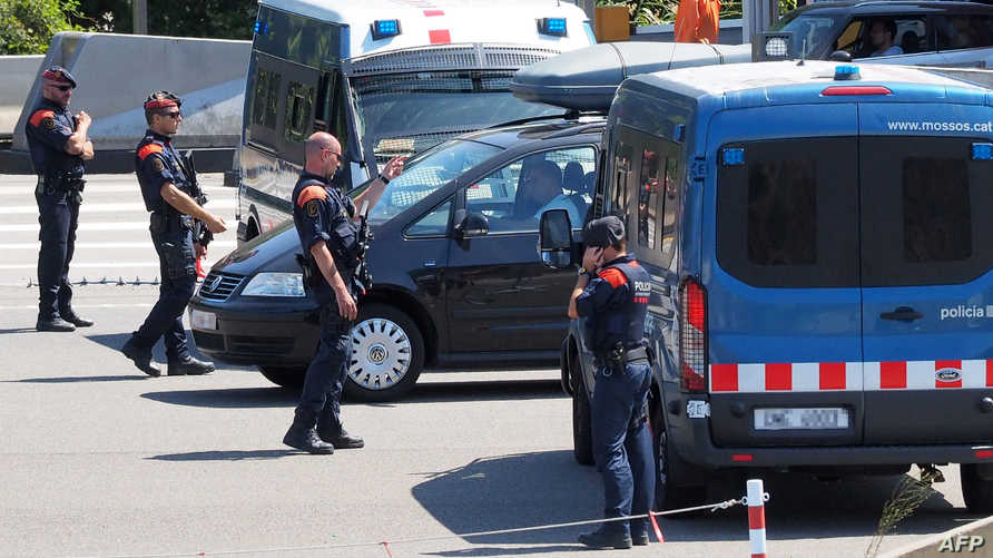 الشرطة الإسبانية