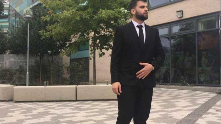 محمد الحاج علي في صورة مأخوذة من أحد أصدقائه على فيسبوك