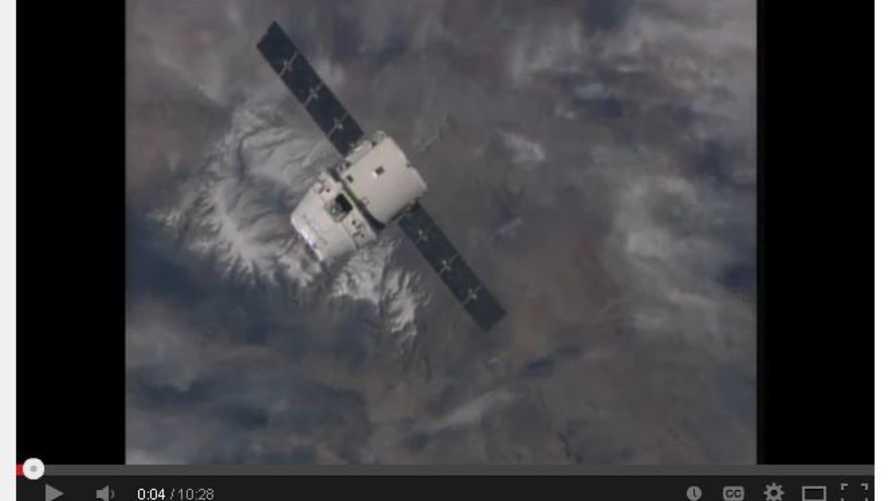 مركبة Dragon الأميركية في طريقها إلى محطة الفضاء الدولية