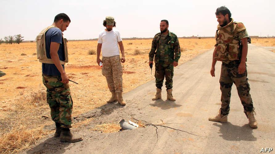 قوات ليبية موالية للحكومة المعترف بها دوليا