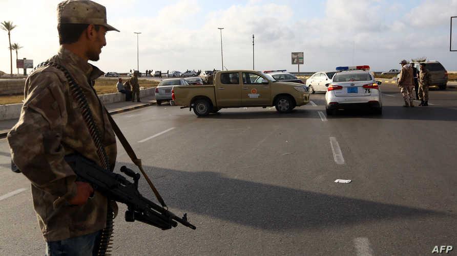 قوات تابعة لحكومة الوفاق في طرابلس