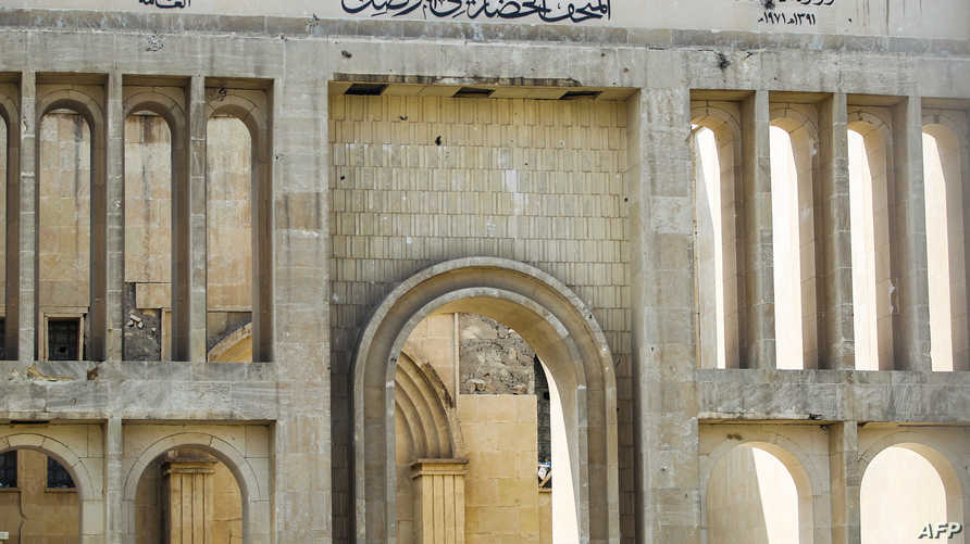 مدخل متحف الموصل الحضاري