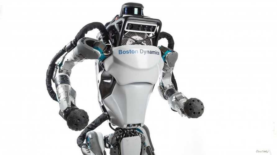 روبوت أطلس. نقلا عن موقع الشركة