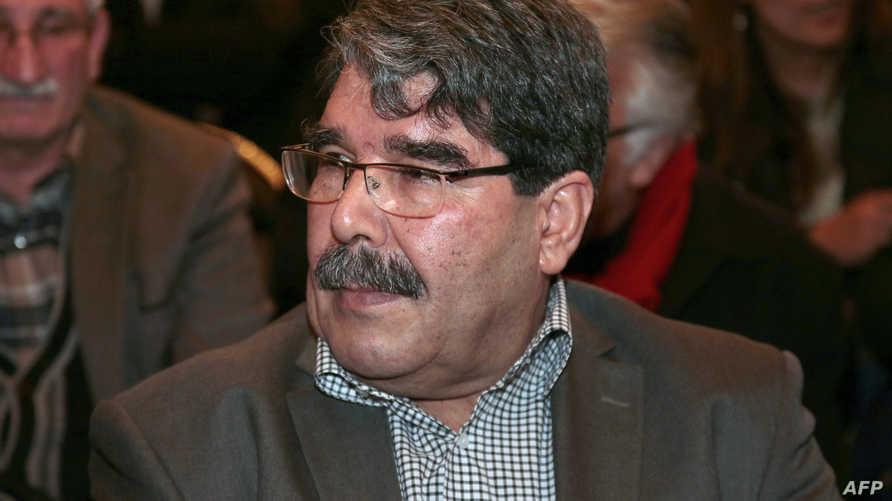 زعيم حزب الاتحاد الديموقراطي الكردي صالح ملسم