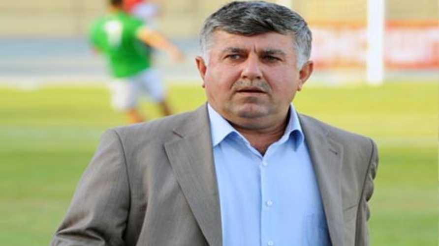 عبد الخالق مسعود رئيس الاتحاد العراقي لكرة القدم