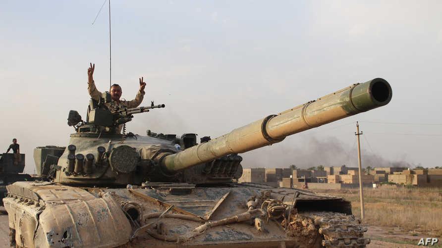 قوات عراقية قرب الأنبار