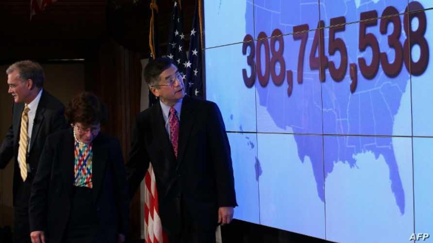 مؤتمر صحافي يوضح التعداد السكاني الأميركي لعام 2010 - أرشيف