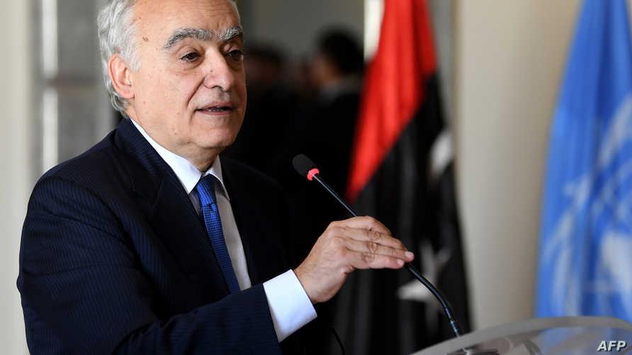موفد الأمم المتحدة إلى ليبيا غسان سلامة