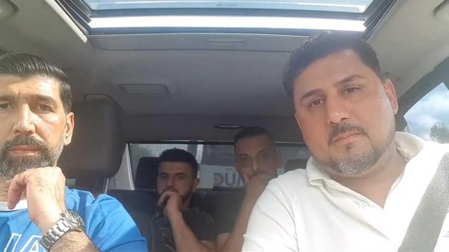 أعضاء من مجموعة السلام 313/ لقطة من صفحة المجموعة على يوتيوب