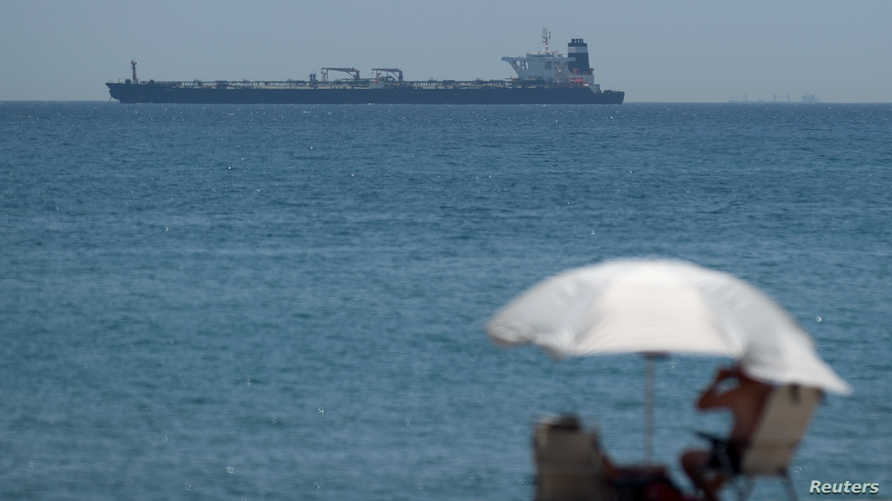"""ناقلة النفط الإيرانية """"غريس 1"""" احتجزت قبالة جبل طارق"""