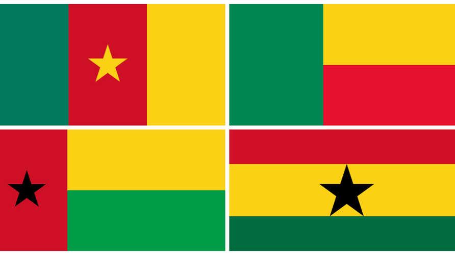 أعلام دول أفريقية