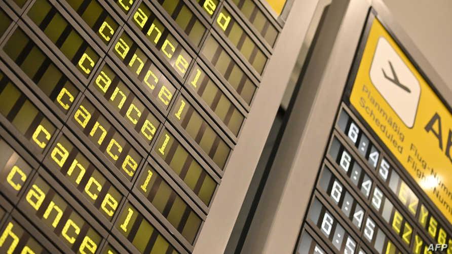 إلغاء رحلات في مطار برلين خلال إضراب سابق لموظفي الأمن