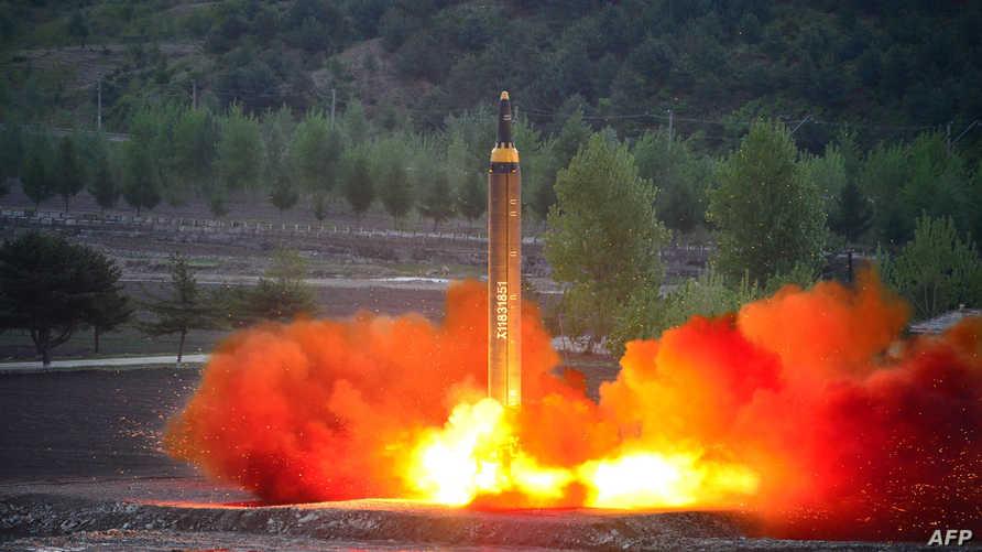 تجربة إطلاق صاروخ في كوريا الشمالية