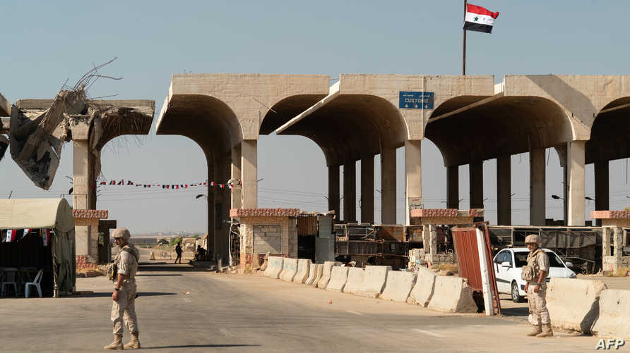 معبر نصيب/جابر الحدودي بين سورية والأردن
