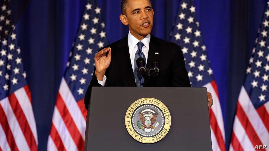 الرئيس أوباما يلقي خطابه حول مكافحة الإرهاب