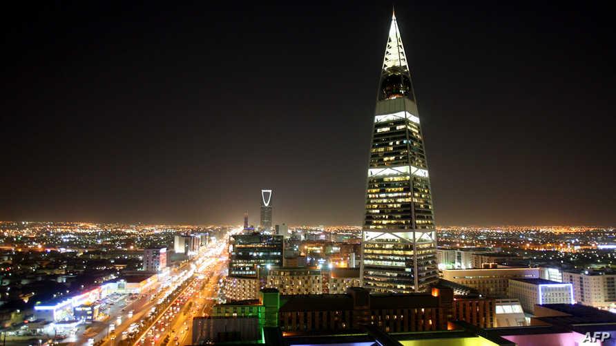 مدينة الرياض ليلا