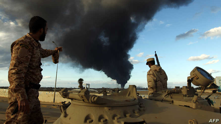 مقاتلون من فجر ليبيا- أرشيف