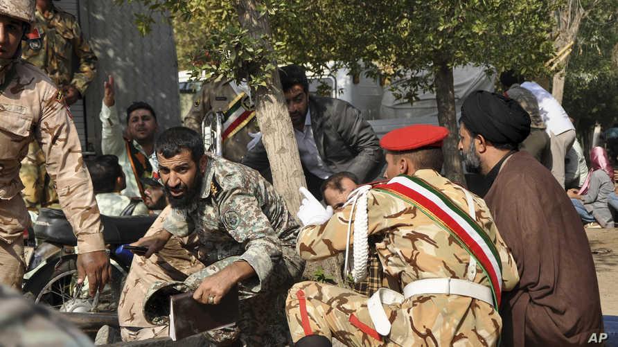 جنود إيرانيون خلال هجوم سابق في الأحواز، أرشيف