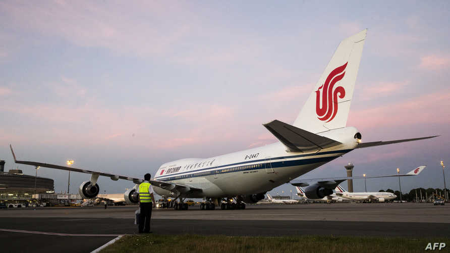 طائرة صينية، أرشيف
