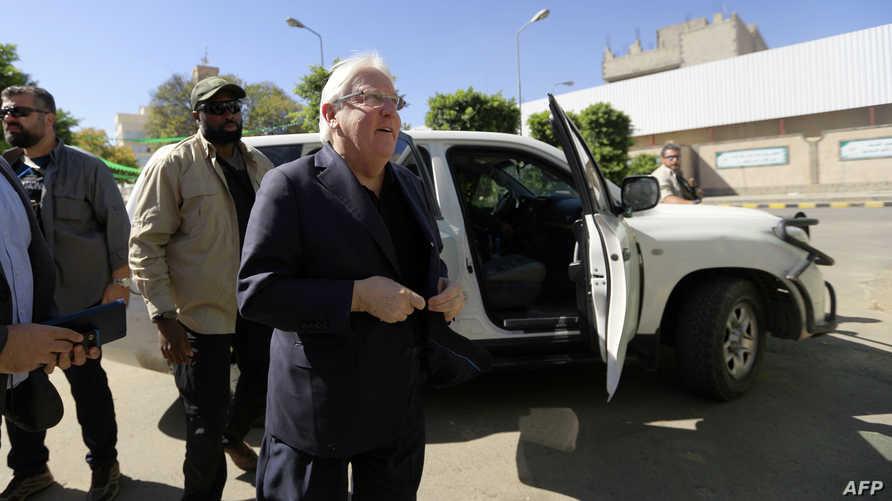 مبعوث الأمم المتحدة إلى اليمن مارتن غريفيث