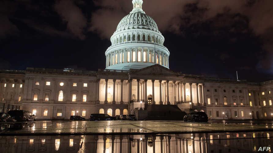 مبنى الكونغرس الأميركي