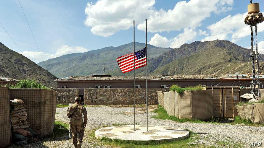 مقر للقوات الأميركية في أفغانستان_أرشيف
