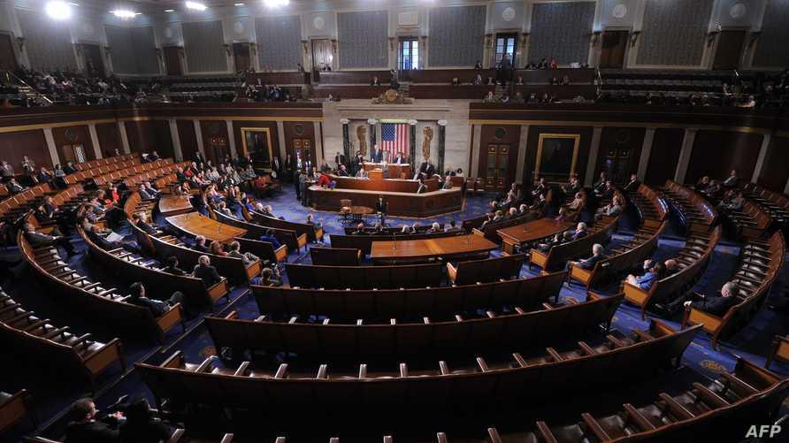 جلسة سابقة لمجلس الشيوخ الأميركي